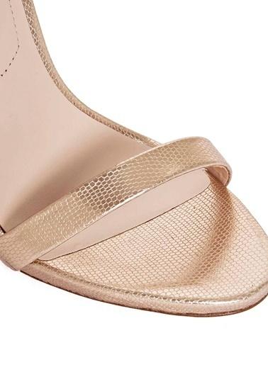 Aldo Yüksek Topuklu Ayakkabı Altın